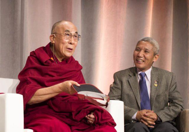 Sua Santidade o Dalai Lama e Thubten Jinpa
